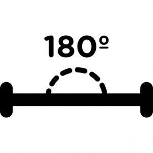 Je DPI beslissen door 180 graden te draaien