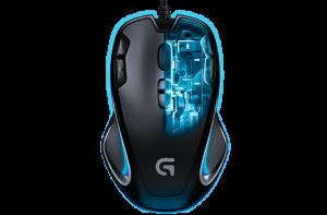 Wat is dpi bij een muis - Logitech g300s snel dpi