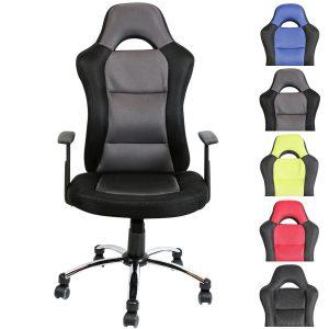 Goedkope gamestoelen - Clp Bureaustoel - Sport seat racer JERRY