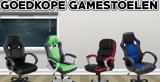 Goedkope gamestoelen onder de 100 euro