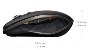 beste mini muis voor laptop - Logitech MX Anywhere 2