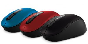 beste muis voor laptop - Microsoft Bluetooth Mobile Mouse 3600