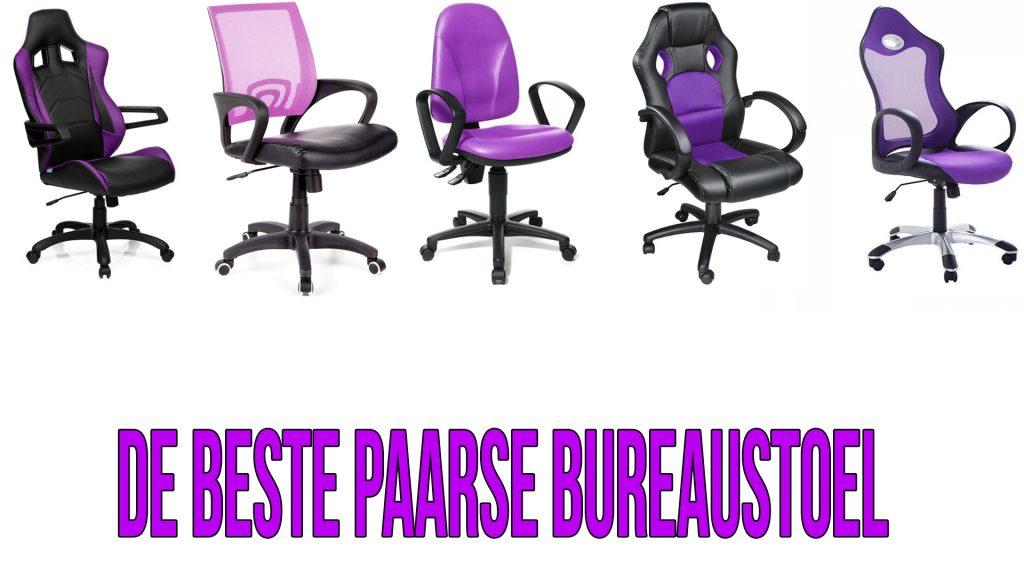 Bureaustoel Beste Getest.Paarse Bureaustoel Pc Accessoires