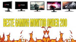 Beste monitoren onder de 200 euro Verkrijgbaar