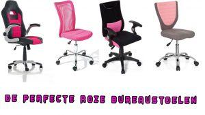 De perfecte roze bureaustoelen
