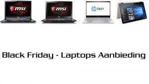 Black friday Laptop aanbieding