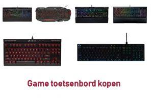 Game toetsenbord kopen is niet gemakkelijk