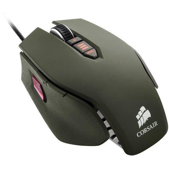 Corsair Vengeance M65 - Gaming Lasermuis - military green