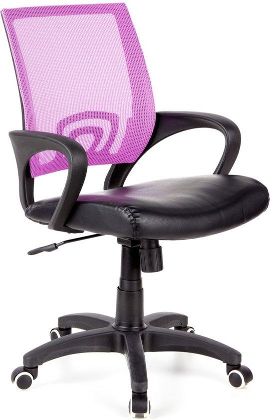 hjh office Visto Net - Bureaustoel - Lila