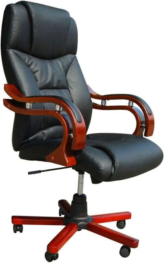 vidaXL - Directie S220 - Bureaustoel zwart