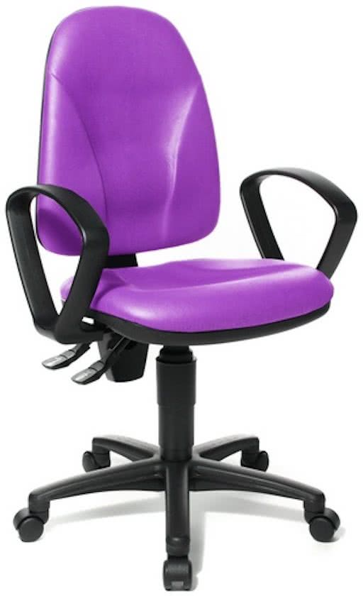 Topstar California 20 HD - Bureaustoel - Softex - Lila