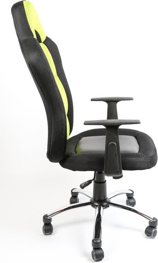 Clp Bureaustoel - Sport seat racer JERRY - Gamingstoel - Racing office stoel - groen