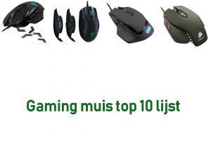 Gaming muis top 10 lijst van onze aller beste top 10 gaming muizen tot nu toe