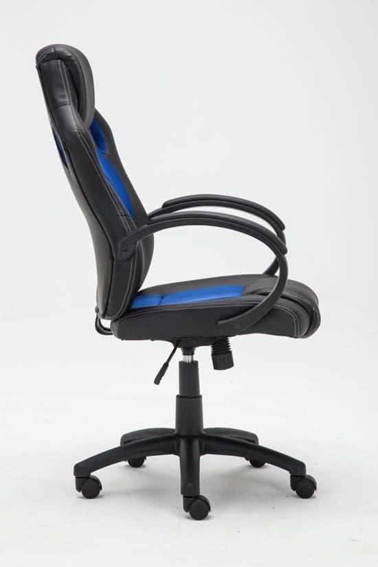 Clp Gaming-stoel - Racing bureaustoel FIRE - Sport seat Racer design - blauw
