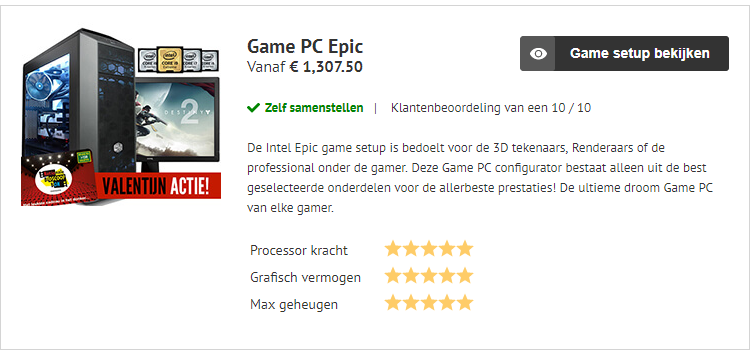 ONLINE GAME PC KOPEN HIGH-END PC