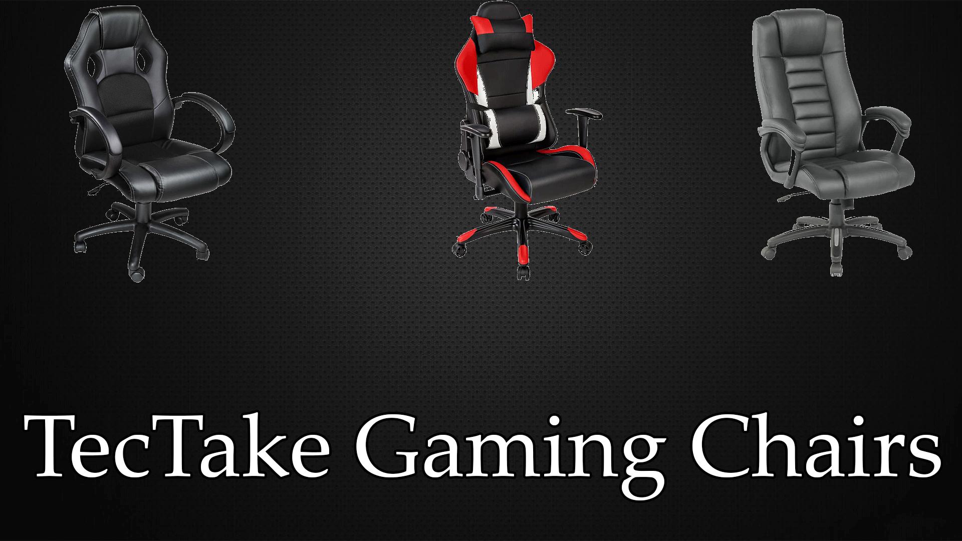 Tectake gaming chair image