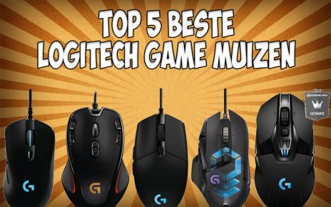 Logitech game muis - Top 5 Logitech gaming muizen