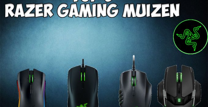 Razer game muis - Top 5 razer gaming muizen