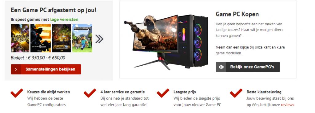 Budget gaming pc goedkoopste